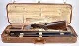 beautiful browning superposed 20ga pigeon grade 2 barrel set with original case