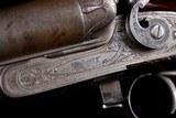 "Beautiful, rare, and all original Parker $225 Grade 12ga Hammer Gun with 32"" original barrels and excellent provenance - 7 of 20"