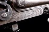 "Beautiful, rare, and all original Parker $225 Grade 12ga Hammer Gun with 32"" original barrels and excellent provenance - 2 of 20"