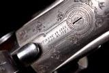 "Beautiful, rare, and all original Parker $225 Grade 12ga Hammer Gun with 32"" original barrels and excellent provenance - 12 of 20"