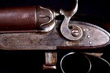 Exceedingly rare 11 Bore Parker $200 Grade Lifter with amazing rams horn stock carved grip- Great dimensions - Rare Rare Rare!!!