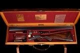 """Rare Purdey 20ga Self-opener with original 29"""" barrel, cased with accessories - Fantastic shooting dimensions!!! - 1 of 20"""