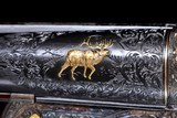 The most extraordinary Fox Shotgun upgrade Extant - A Grade Special Made for W.H. Gough with nearly a dozen Gold Inlays- Truly Exceptional!!! - 4 of 17