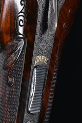 The most extraordinary Fox Shotgun upgrade Extant - A Grade Special Made for W.H. Gough with nearly a dozen Gold Inlays- Truly Exceptional!!! - 6 of 17