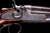 "Scarce Parker Grade 3 (D Grade) 12ga Hammer gun with fishtail top lever and original 32"" barrels! - 8 of 14"