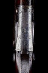 "Scarce Parker Grade 3 (D Grade) 12ga Hammer gun with fishtail top lever and original 32"" barrels! - 7 of 14"