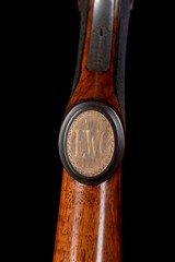 """Beautiful Parker BHE 12ga with 30"""" barrels - fantastic engraving! Awesome modern dimensions, too! - 10 of 14"""
