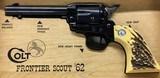 Colt Revolver Frontier Scout '62