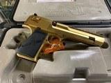 Magnum Research .44 Caliber Desert Eagle, Gold.