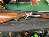 Entuare Double barrel shotgun. 12 Gauge, Engraved.