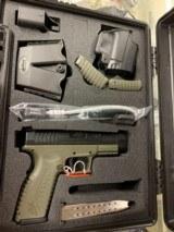 Springfield Armory XDM 9mm OD Green