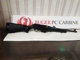 ruger 19100 carbine 9mm