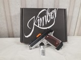 kimber mico 9mm w/ rose wood grips - 1 of 1