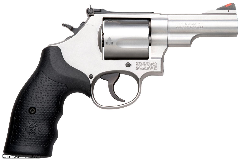 Smith & Wesson 69 L-Frame Revolver 10064, 44 REM MAG