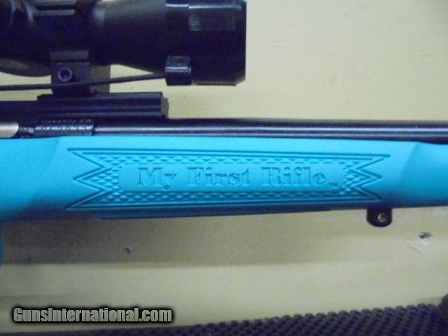 Keystone KSA2302PKG Crickett Bolt BLUE  22 LR