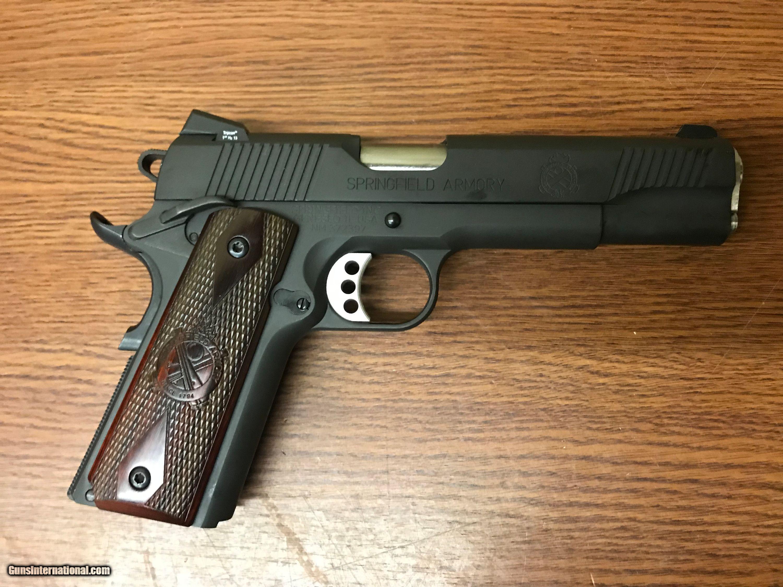 Springfield Service Trophy Pistol PX9109LP, 45 ACP