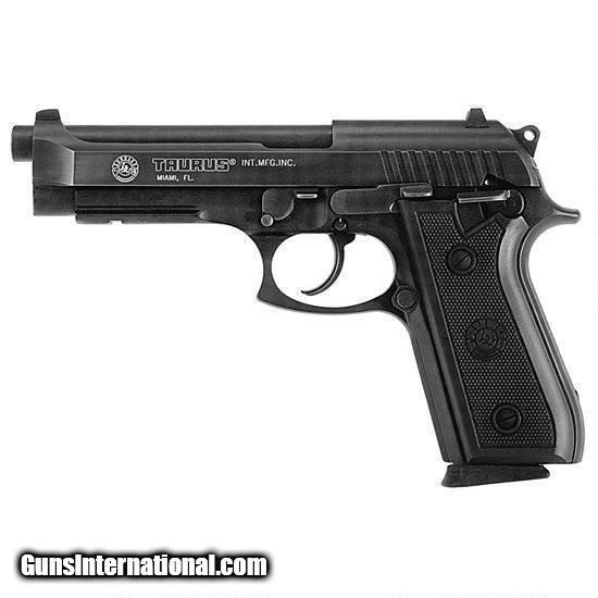 Taurus PT-92 Large Frame Pistol 192015117, 9mm