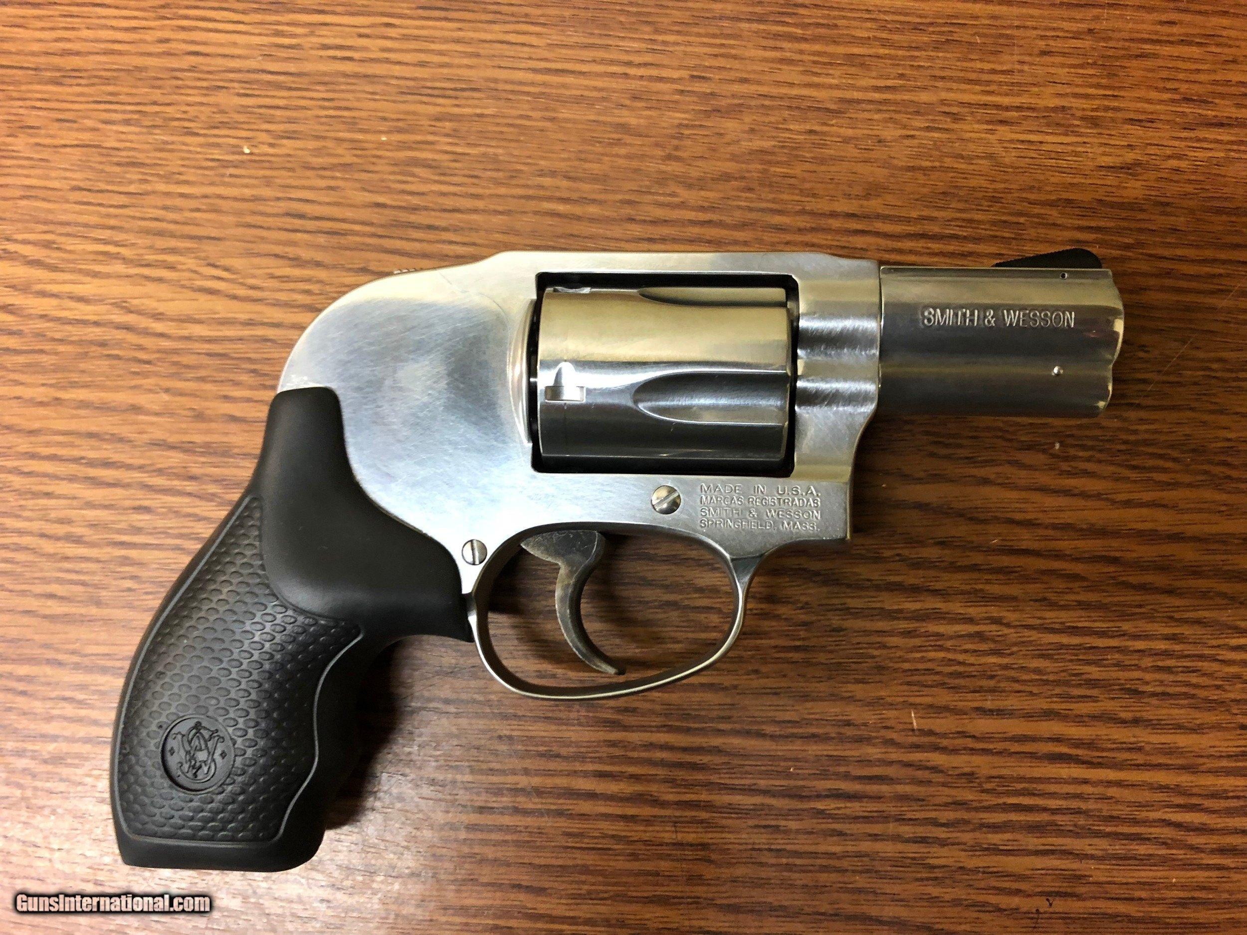 Smith & Wesson 649 Revolver 163210, 357 Magnum