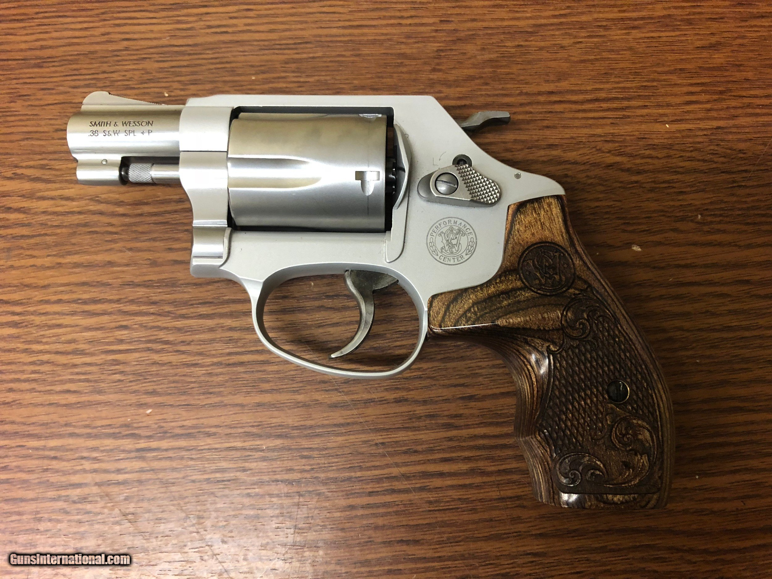 Smith & Wesson 637 Performance Center Revolver 170349, 38 Special - 1 of 5  ...