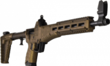 Kel-Tec SUB-2000 Glock 19 SUB2K9GLK19BBRZ 9mm