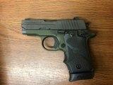 Sig Sauer P238 Pistol 238380AGF, 380ACP