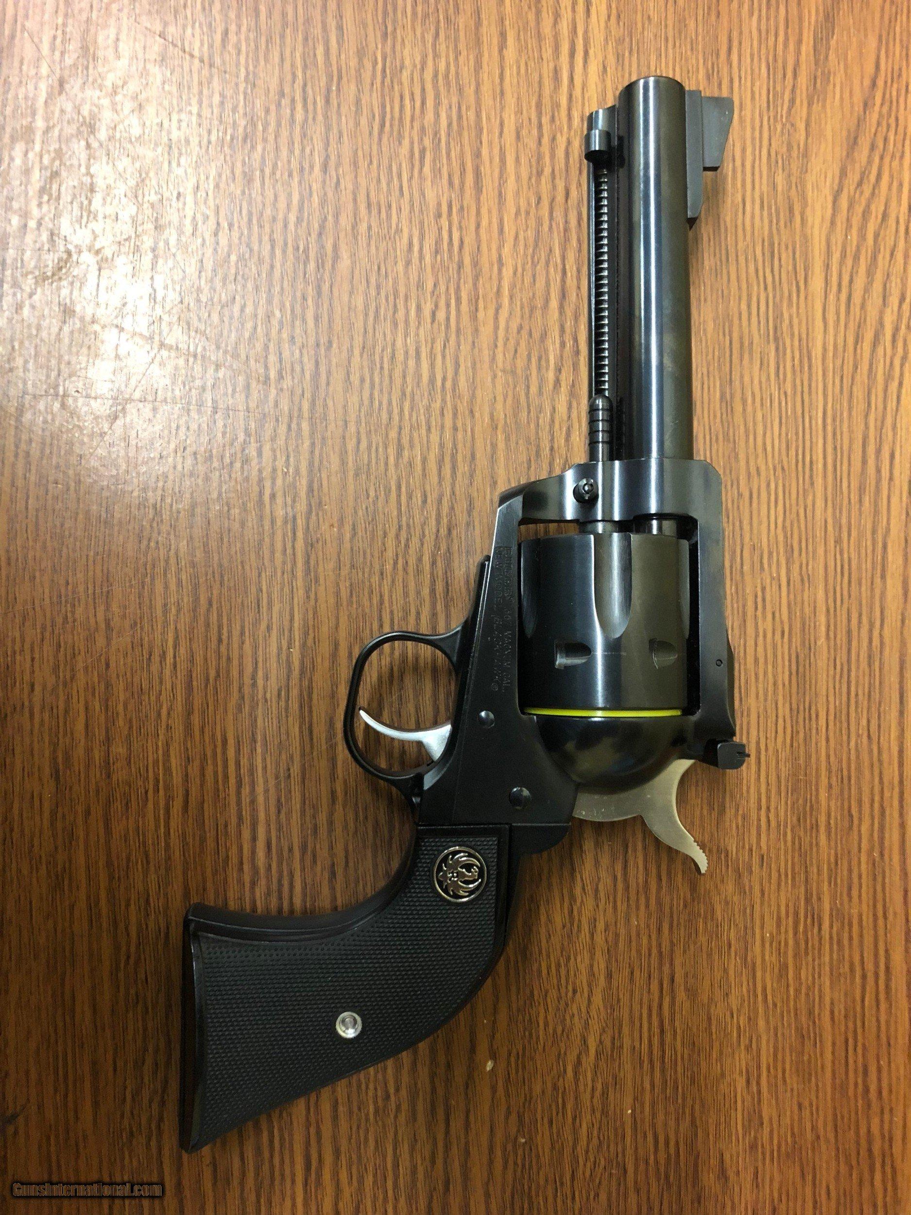 357 revolver blackhawk magnum ruger NEW MODEL