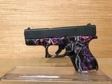 Glock 43 Single Stack Pistol Muddy-Girl Pink Camo PI4350201 9mm