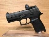 Sig P320 Compact Pistol w/Romeo1 Reflex Sight 320C9BSSRX, 9mm