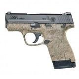 S&W M&P 9 Shield M2.0 Pistol, FDE with Black Spiderweb - 12424