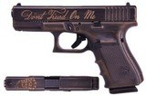 Glock UG1950204DTOM 19 Gen 4 Pistol 9mm Don't Tread On Me