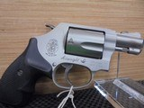 SMITH & WESSON 637-2 AIRWEIGHT .38 SPL +P