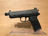 FN Herstal 66-100034 FNX-45 Tactical DA/SA 45acp