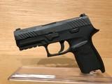 Sig Sauer 320C-9-BSS P320 Compact Pistol 9mm