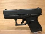 Glock PI-43502-01 43 Pistol 9mm 3.41in 6rd Black