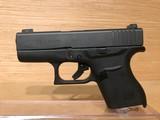 Glock PI-43502-01 43 Pistol 9mm