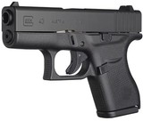 Glock 43 Single Stack Pistol PI4350201, 9mm