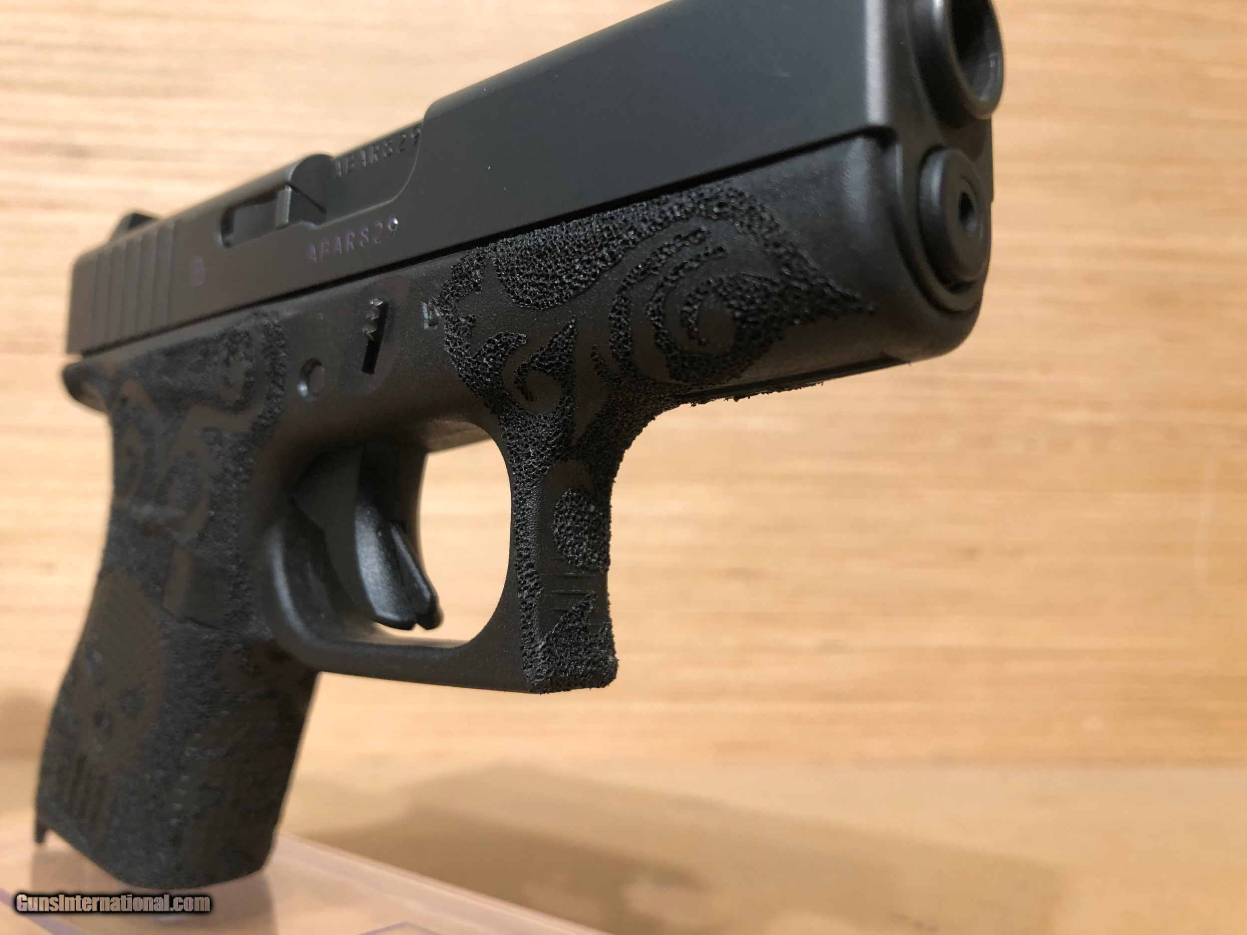 Glock 42 Slimline Subcompact Pistol UI4250201, 380 ACP