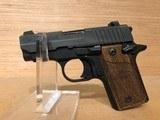Sig P238 Pistol 238380B, 380 ACP