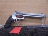 """Smith & Wesson 500 Revolver 163500, 500 S&W, 8 3/8"""""""