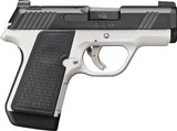 Kimber 3900010 EVO SP Two-Tone Pistol, 9MM, 3.16 in, Nylon Grips, Two Tone FNC Finish Frame/Slide, Tritium Night Sights - 1 of 1
