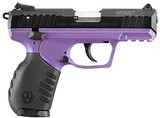 Ruger SR22 Lady Lilac Pistol 3606, 22 Long Rifle