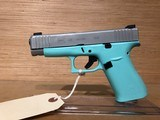 GLOCK G48 ROBIN EGG BLUE 4.17 10RD AMGLOW 9MM