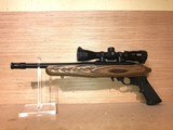 Ruger 22 Charger Pistol 4917, 22 Long Rifle