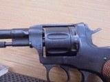 NAGANT M95 OFFICERS REVOLVER 7.62X38MM RIMMED - 8 of 15