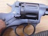 NAGANT M95 OFFICERS REVOLVER 7.62X38MM RIMMED - 3 of 15