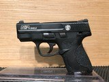 Smith & Wesson M&P SHIELD, Semi-automatic Pistol, Striker Fired, Compact, 9MM