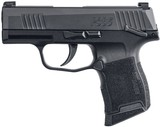 Sig P365 Manual Safety Pistol 3659BXR3MS, 9mm
