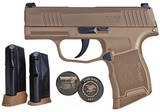 Sig P365 NRA Edition Pistol 3659COYXR3NRA19, 9mm