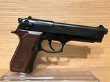 BERETTA MODEL 92 FS SEMI-AUTO PISTOL 9MM - 2 of 5