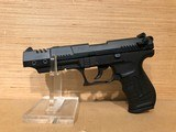 WALTHER DISC-P22 BLK TRGT 22LR - 1 of 5